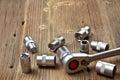 Socket wrench Royalty Free Stock Photo