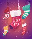 5 socks for gifts the new year