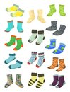 Socks for little boys Royalty Free Stock Photo