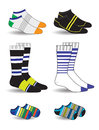 Socks for men and children Stock Photography