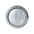 Soda can isolated on white Royalty Free Stock Image