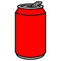 Soda Can Royalty Free Stock Photo