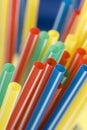 Soda straws Royalty Free Stock Photo