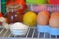 Sodium bicarbonate inside of fridge Royalty Free Stock Photo