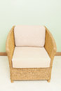 Sofa furniture weave bamboo chair for any use Stock Images