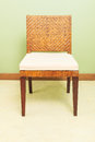 Sofa furniture weave bamboo chair for any use Royalty Free Stock Photography