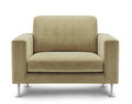 Sofa furniture  on white background Royalty Free Stock Photo
