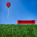 Sofa with nice background for adv or others purpose use Stock Images