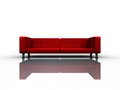 Sofa with nice background for adv or others purpose use Royalty Free Stock Images