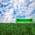 Sofa with nice background for adv or others purpose use Stock Image