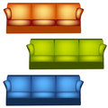 Sofas Royalty Free Stock Photo