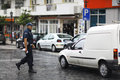 Sofia bulgaria june police stop offending on june in Royalty Free Stock Photos