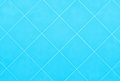 Soft blue or cyan Tile glossy mosaic Earthenware material backgr Royalty Free Stock Photo