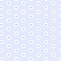 Soft blue freehand cross on white circle pattern background