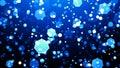 SOFT BLUE HEXAGONS Royalty Free Stock Photo