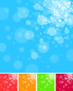 Soft blurred background a set of highlight images Stock Photography