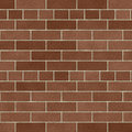 Soft Brown Brick Wall Stock Photography