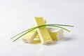 Soft cheese with thin white rind brique cow s milk edible Stock Images