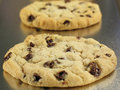 Soft & Chewy Chocolate Chip Cookies Stock Image