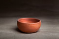 Soft clay pot : bowl Royalty Free Stock Photo