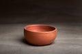 Soft clay pot : bowl Royalty Free Stock Photo