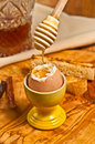 Soft Cooked Egg Royalty Free Stock Photo