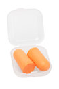 Soft Foam Ear Plugs Royalty Free Stock Photo