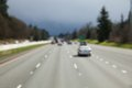 Soft focus highway for background Royalty Free Stock Photo