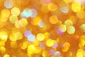 Soft lights orange, gold background  Yellow, turquoise, orange, red abstract bokeh Royalty Free Stock Photo