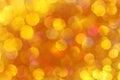 Soft Lights Orange, Gold Backg...