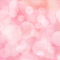 Soft pink background with bokeh lights Stock Photo