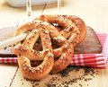 Soft pretzels Royalty Free Stock Images