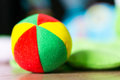 Soft toy ball Royalty Free Stock Photo