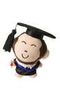 Soft Toy Graduation Monkey Royalty Free Stock Photos