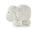 Soft Toy White Lamb Royalty Free Stock Photo