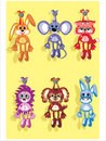 Soft toys Royalty Free Stock Photography