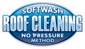 Soft Wash No Pressure Roof Cleaning Stock Photography
