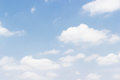 Soft white clouds against blue sky background and empty space Royalty Free Stock Photo