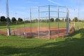 Softball Field Royalty Free Stock Photo