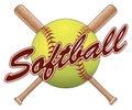 Softball Team Design Royalty Free Stock Photo