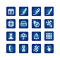 Software icons Stock Photography