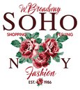 Soho New York shopping feeling fashion roses