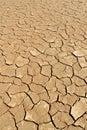 Soil detail of dry pan, Sossusvlei, Namib Desert Royalty Free Stock Photo