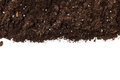 Soil or dirt section Royalty Free Stock Photo