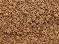 Soil texture brown friable of an agricultural field Royalty Free Stock Photos