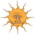 Sol Invictus Royalty Free Stock Images
