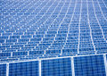 Solar cell modern panel Royalty Free Stock Photography