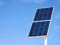 Solar cell modern panel Stock Photo