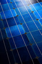 Solar cells pattern background texture Stock Photo