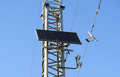 Solar cells to provide power transmission antenna